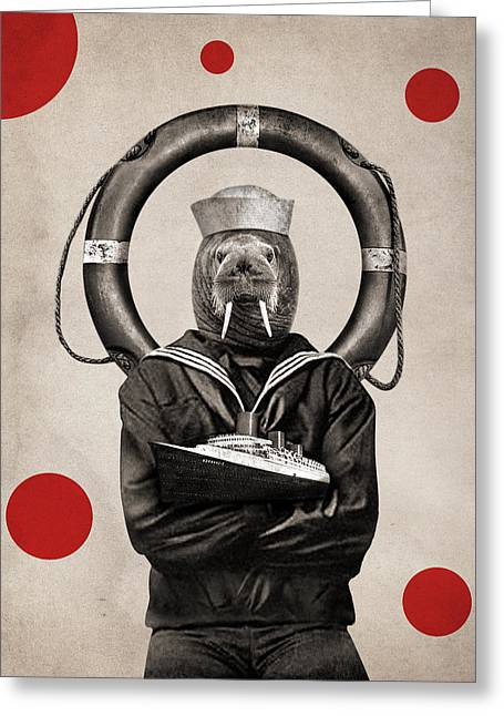 Animal15 Greeting Card by Francois Brumas