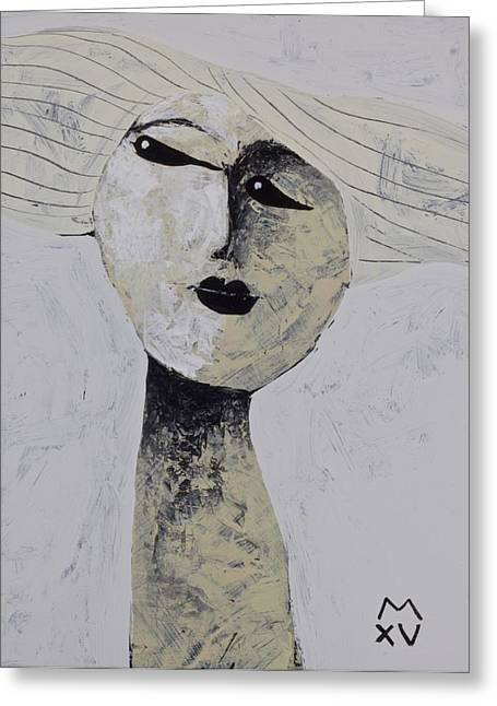 Abstract Expression Greeting Cards - ANIMUS No. 76 Greeting Card by Mark M  Mellon