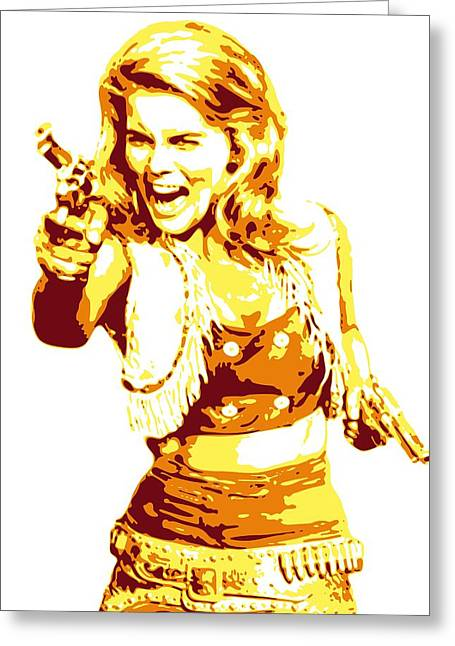Db Artist Greeting Cards - Ann Margret Greeting Card by DB Artist