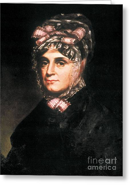 Anna Harrison, First Lady Greeting Card by Science Source