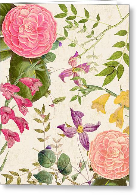 Apricots Paintings Greeting Cards - Annabelle Lee II Greeting Card by Mindy Sommers