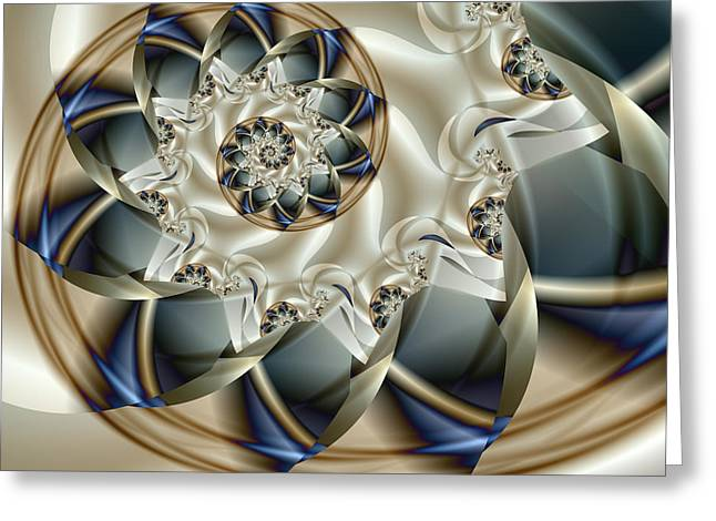 Abstract Digital Greeting Cards - Anniversary Greeting Card by Vicky Brago-Mitchell