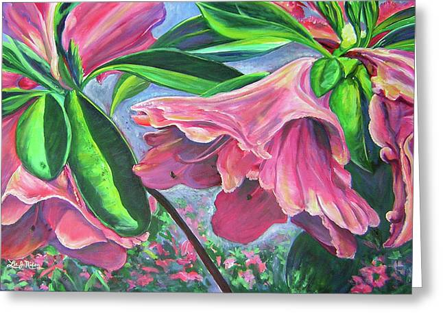 Announcement Of Spring Greeting Card by Lee Nixon