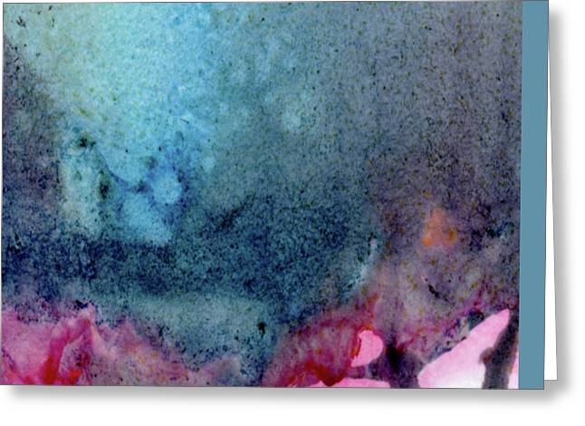 Abstract Expression Greeting Cards - Anomaly Greeting Card by Ken OToole
