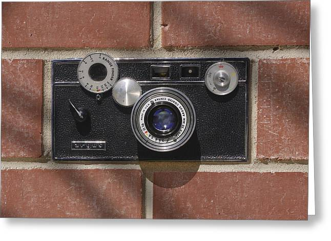 Vintage Camera Greeting Cards - Another Brick Greeting Card by Mike McGlothlen