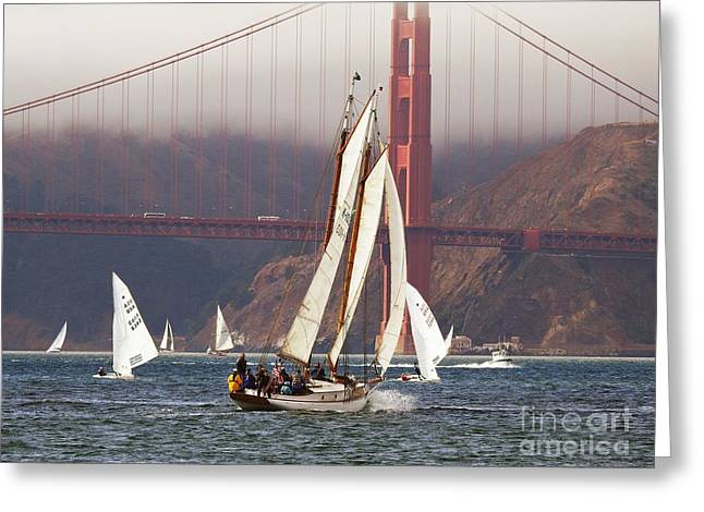 Best Sailing Photos Greeting Cards - Another Fine Day Greeting Card by Scott Cameron