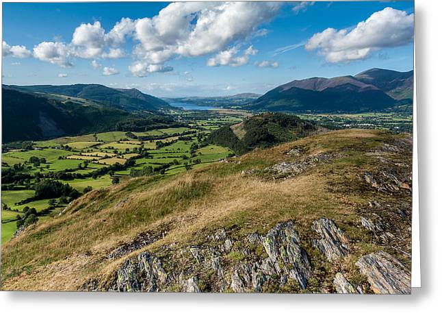 The Hills Greeting Cards - Another Lakeland View Greeting Card by Stuart Gennery
