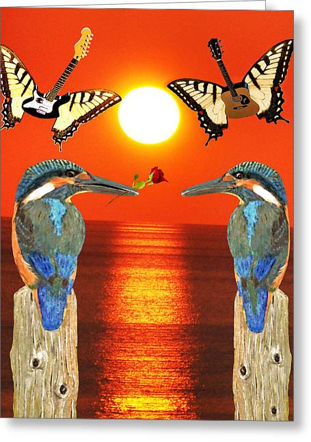 Another Part Of  Me Greeting Card by Eric Kempson