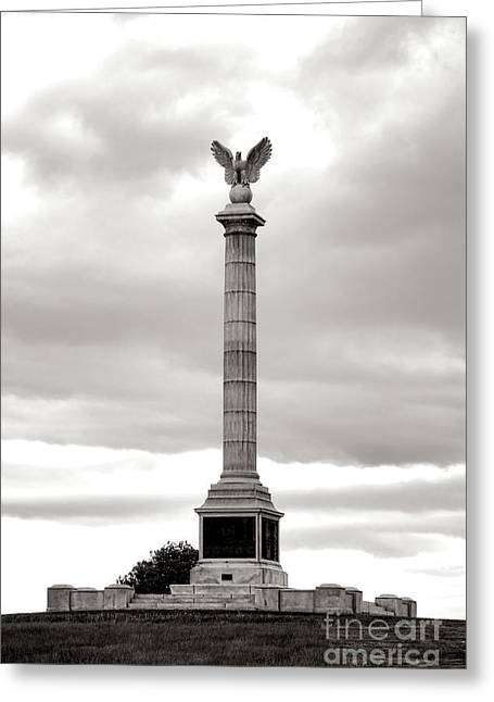 Antietam National Battlefield New York State Monument Greeting Card by Olivier Le Queinec