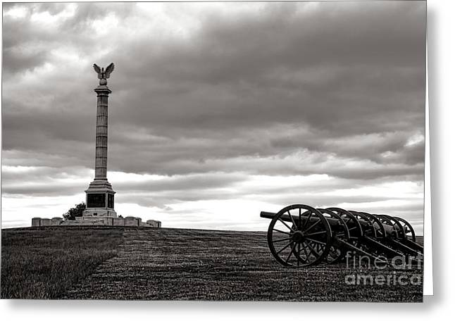 Antietam Greeting Cards - Antietam Silence  Greeting Card by Olivier Le Queinec