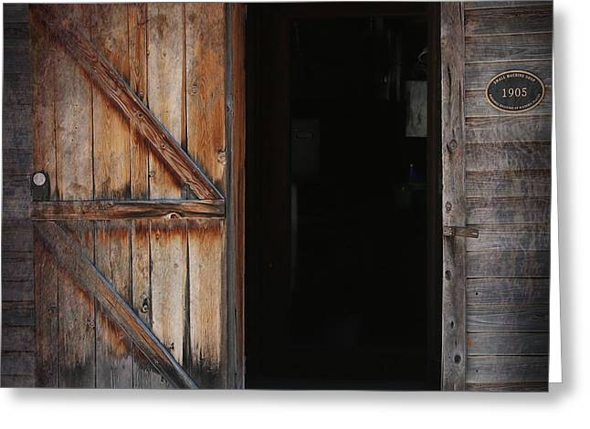 Outbuildings Greeting Cards -  Foreboding Interlude Greeting Card by Darrell Hutto