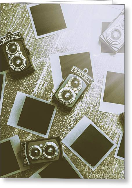 Antique Film Photography Fun Greeting Card by Jorgo Photography - Wall Art Gallery