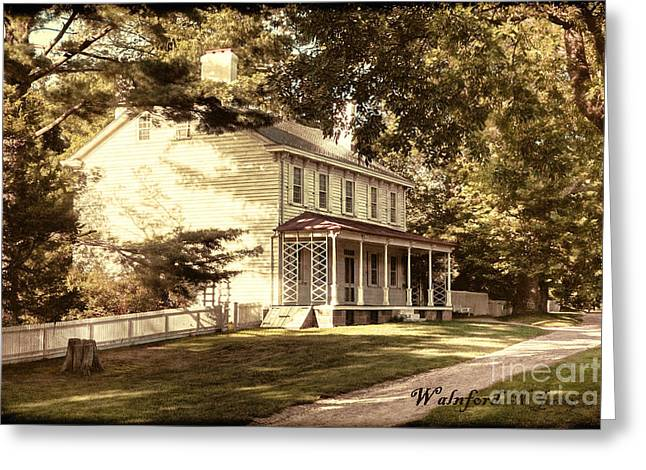 Old House Photographs Greeting Cards - Antique Walnford Greeting Card by Olivier Le Queinec