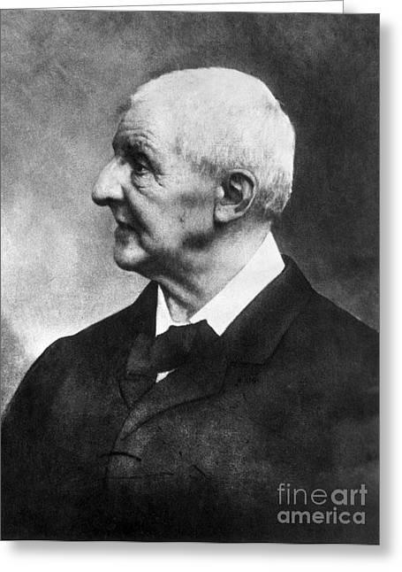 Organist Greeting Cards - Anton Bruckner (1824-1896) Greeting Card by Granger