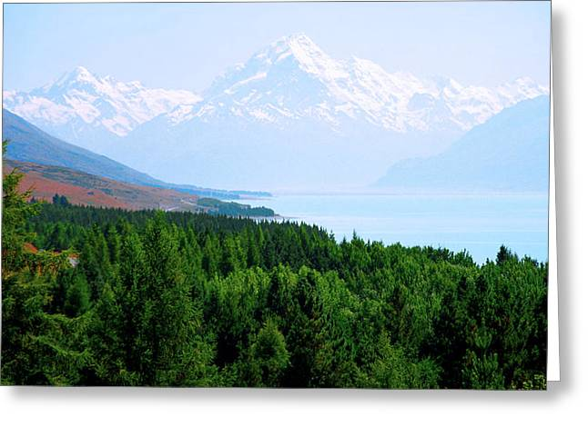 Kevin Smith Greeting Cards - Aoraki Mount Cook Greeting Card by Kevin Smith