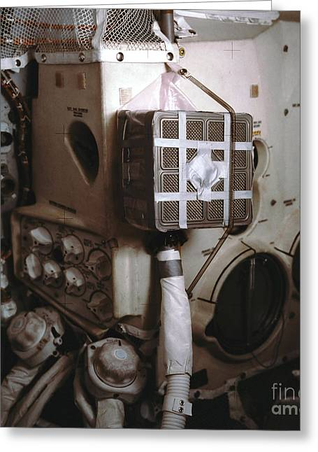 Apollo 13s Mailbox Greeting Card by Nasa