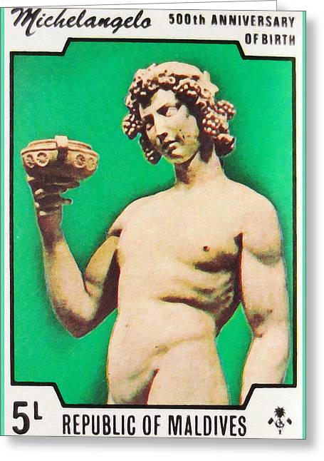 Michelangelo Greeting Cards - Apollo Michelangelo Greeting Card by Lanjee Chee