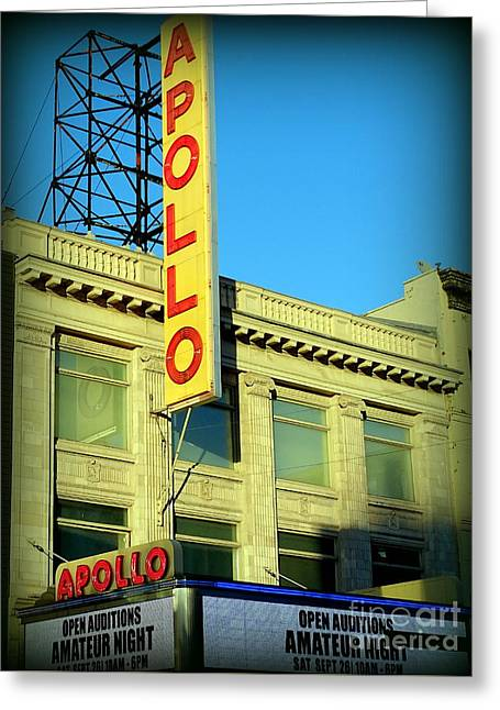Apollo Vignette Greeting Card by Ed Weidman