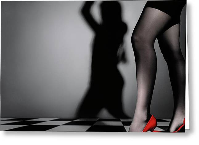 Low Heeled Shoes Greeting Cards - Appearances Are Deceptive Greeting Card by Oleksiy Maksymenko
