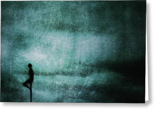 Approach Greeting Cards - Approaching Dark Greeting Card by Andrew Paranavitana