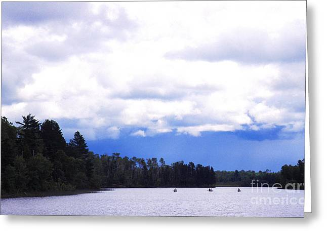 Boundary Waters Greeting Cards - Approaching Storm Greeting Card by Thomas R Fletcher