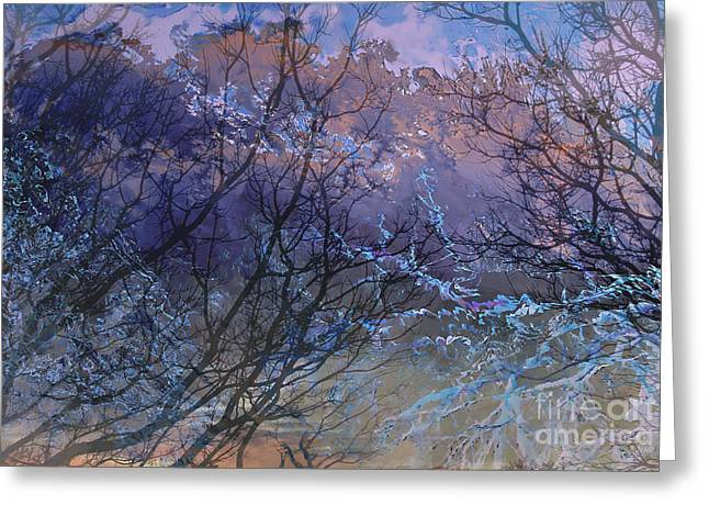 Recently Sold -  - Raining Greeting Cards - Approaching Storm Greeting Card by Ursula Freer