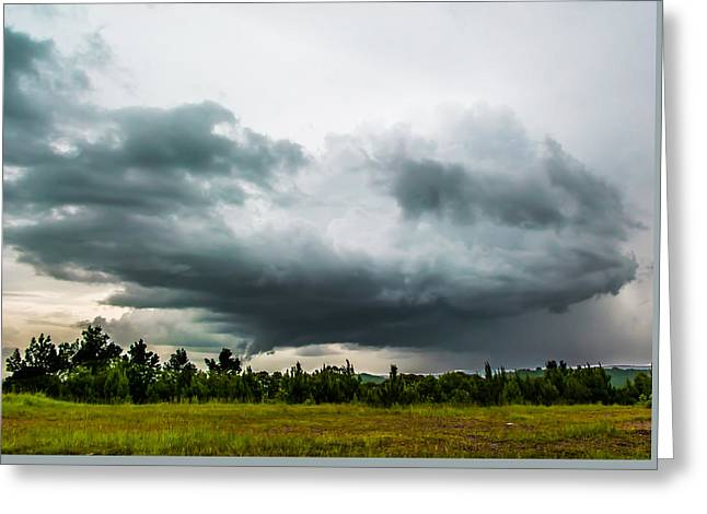 Lightning Photographer Photographs Greeting Cards - Approaching Storms Greeting Card by Shelby  Young