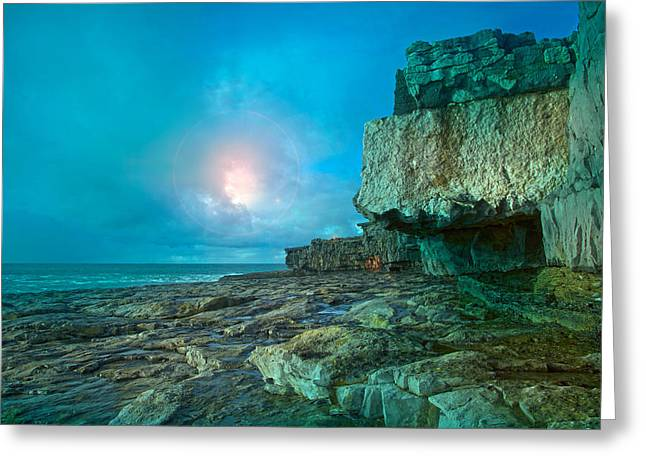 Inishmore Greeting Cards - Aran Nights Greeting Card by Betsy A  Cutler