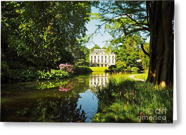 Vallee Greeting Cards - Arboretum de la Vallee-aux-Loups Greeting Card by Alex Cassels