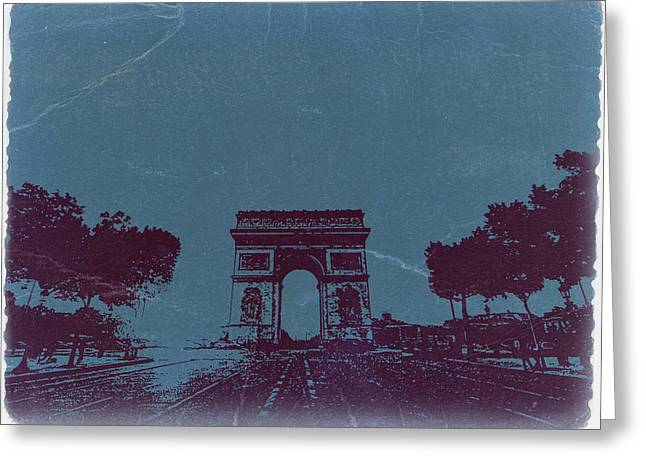 Parisian Greeting Cards - Arc De Triumph Greeting Card by Naxart Studio