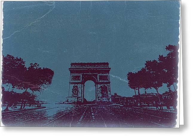 ARC DE TRIUMPH Greeting Card by Naxart Studio