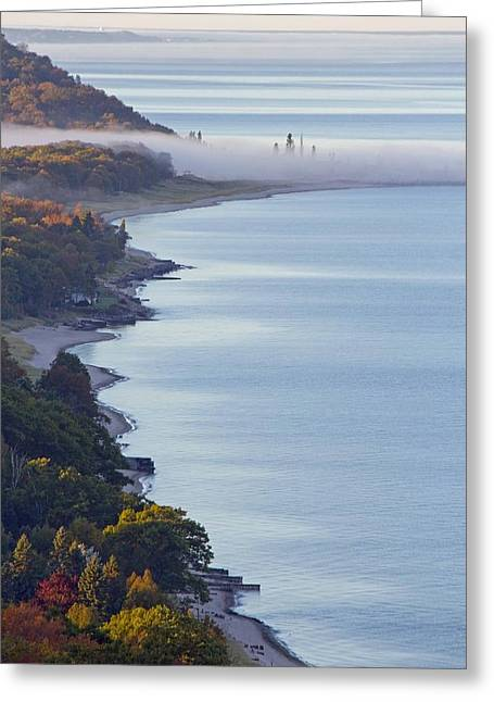 Arcadia Greeting Cards - Arcadia Lakeshore Greeting Card by Twenty Two North Photography
