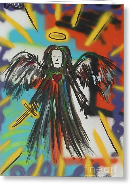 Beautiful Scenery Greeting Cards - Arch Angel Greeting Card by Chris Carter