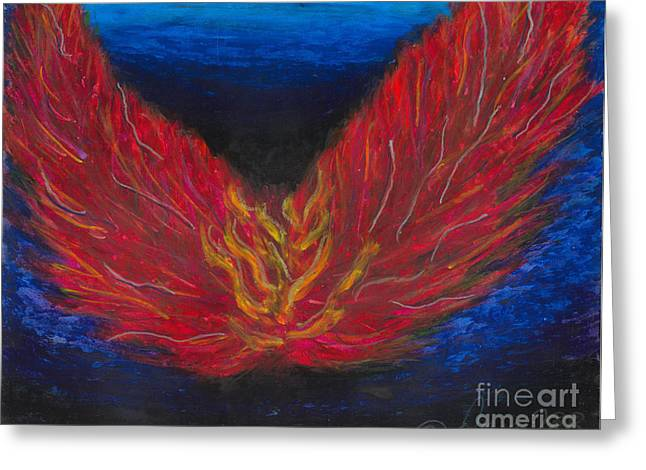 Arch Pastels Greeting Cards - Arch Angel Gabrielle  Greeting Card by Ania M Milo