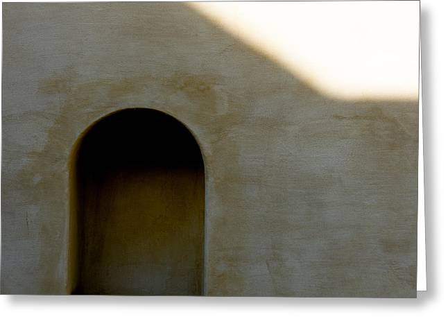 Salzburg Greeting Cards - Arch in Shadow Greeting Card by Dave Bowman