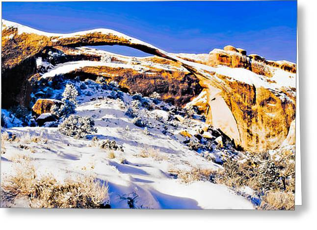 Southern Utah Greeting Cards - Arch of My Heart III Greeting Card by Irene Abdou