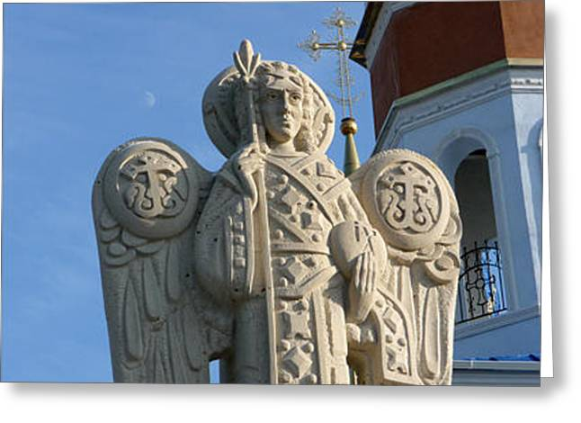 Archangel Sculptures Greeting Cards - Archangel Greeting Card by Yury Salko