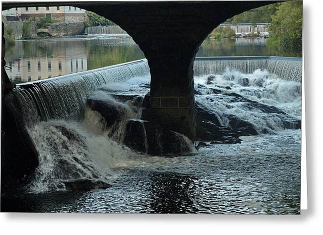 Blackstone River Greeting Cards - Arches Greeting Card by Barry Doherty