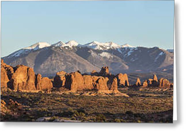 Arches From A Far Greeting Card by Jon Glaser