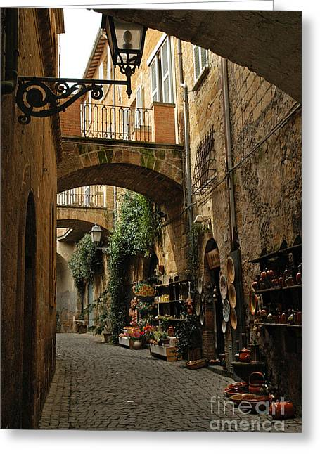 Pinocchio Greeting Cards - Arches Greeting Card by Kyla Applegate
