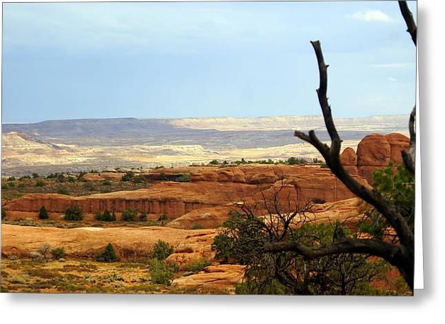 Arches Vista Greeting Card by Marty Koch