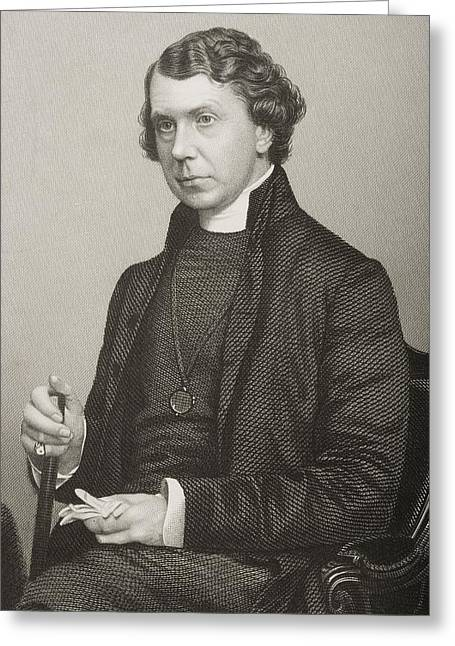 Archbishop Greeting Cards - Archibald Campbell Tait, 1811-1882 Greeting Card by Ken Welsh