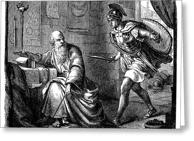 ARCHIMEDES (c287-212 B.C.) Greeting Card by Granger