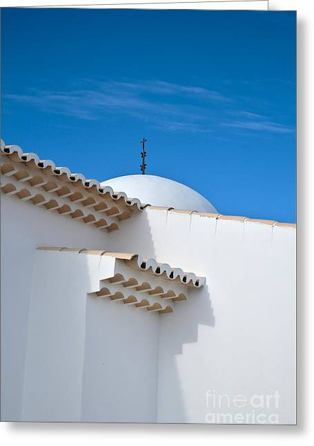 Architectural Detail Of Church Of St. Anthony In Portugal Greeting Card by Angelo DeVal