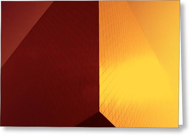 Architecture 3000 Greeting Card by Falko Follert