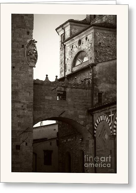 Charly Greeting Cards - Architecture of Pistoia Greeting Card by Prints of Italy