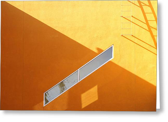 Architecture Study 8 Greeting Card by Dale Hart