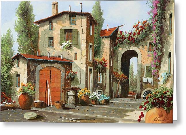 Arco Finale Greeting Card by Guido Borelli