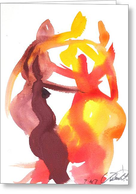 Matisse Greeting Cards - Arembepe 20 Greeting Card by Jorge Berlato