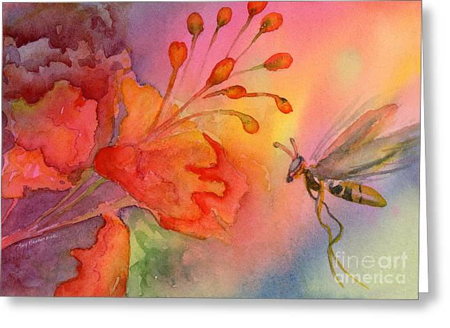 Wasps Greeting Cards - Arizona Fairy Greeting Card by Amy Kirkpatrick
